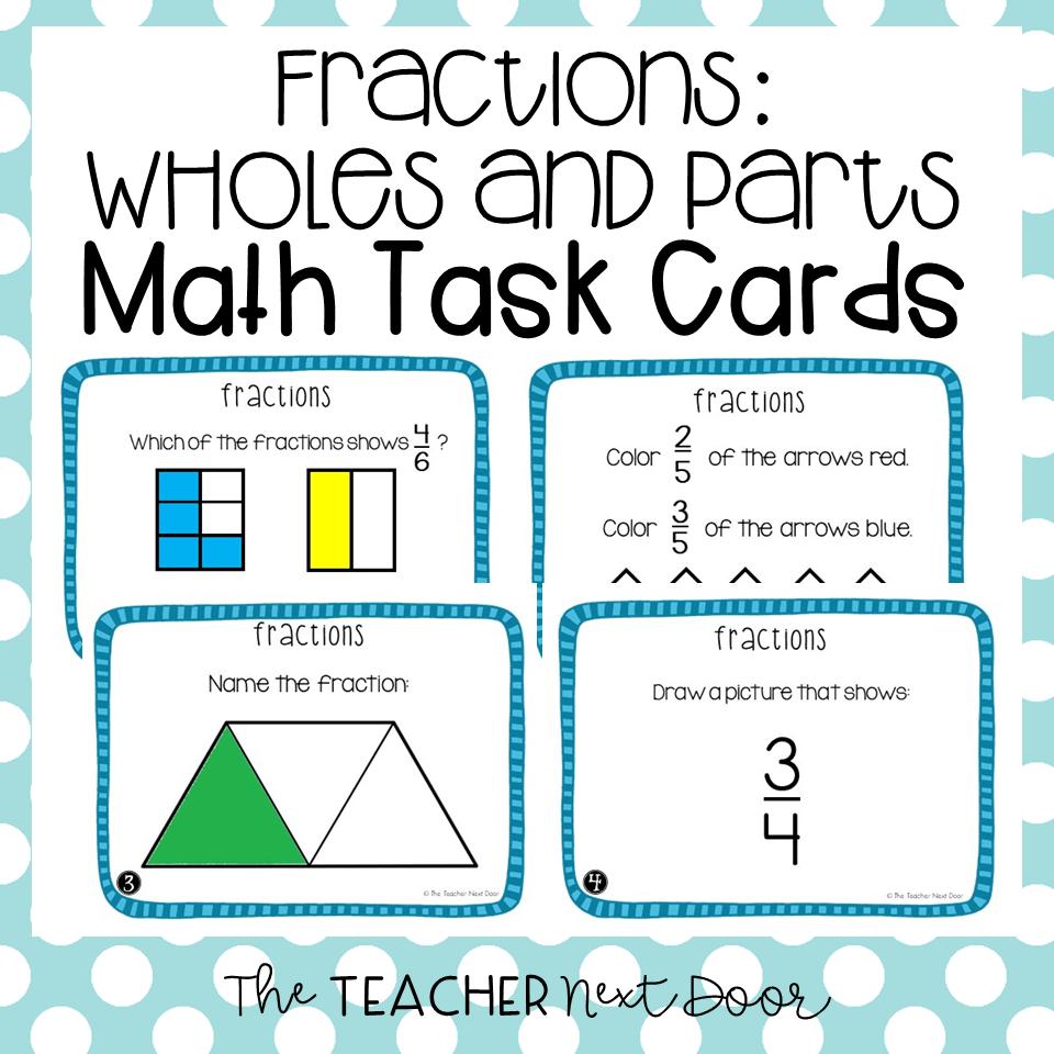 Fraction Activities Students Love The Teacher Next Door [ 960 x 960 Pixel ]