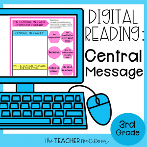 Central Message Digital Reading for Google Drive™ Distance Learning1