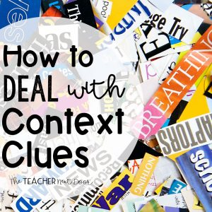 How to Deal With Context Clues
