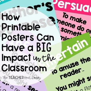 How Printable Posters Can Have a Big Impact in the Classroom
