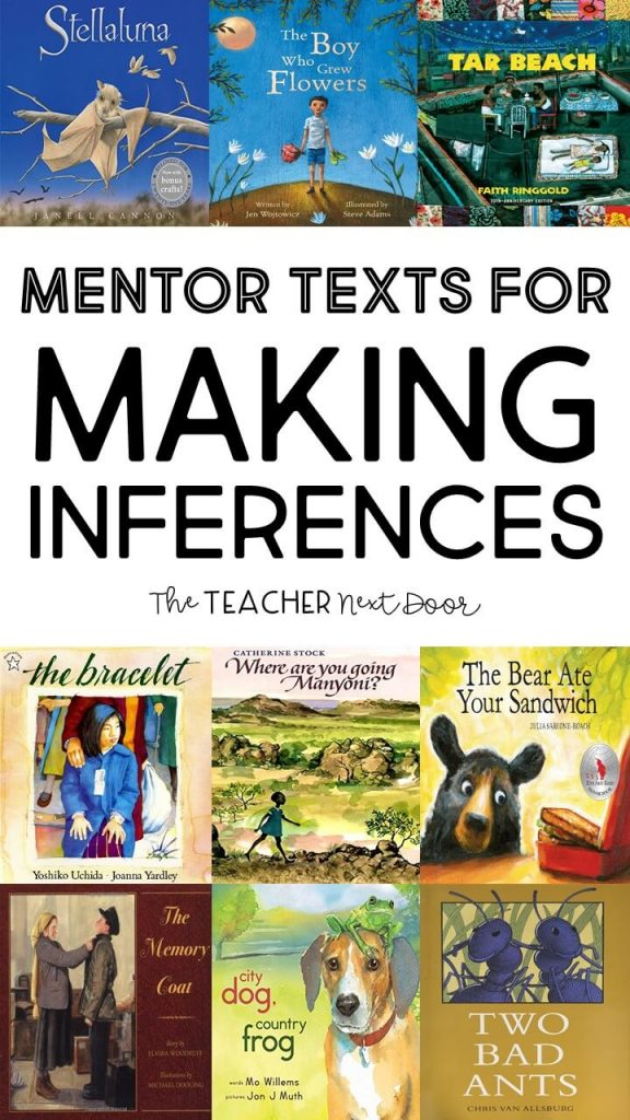 Mentor Texts for Teaching Making Inferences Book List 1
