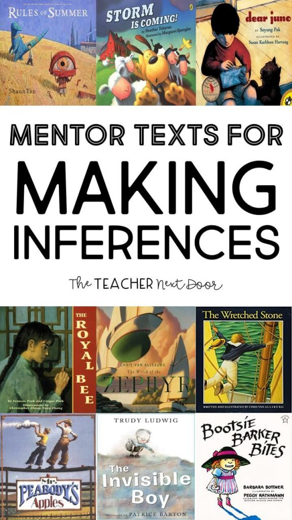 Mentor Texts for Teaching Making Inferences Book List 2