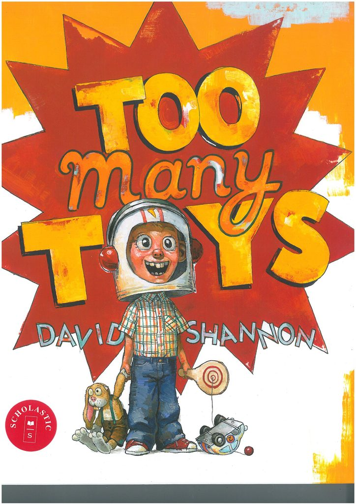 Too Many Toys Book Cover
