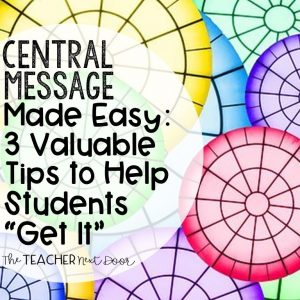 Central Message Made Easy- 3 Valuable Tips to Help Students _Get It_ Blog Cover