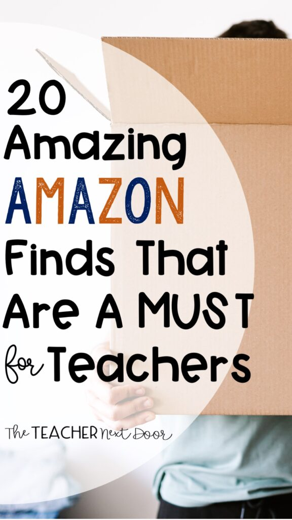 20 Amazing Amazon Finds That Are a Must for Teachers Pin
