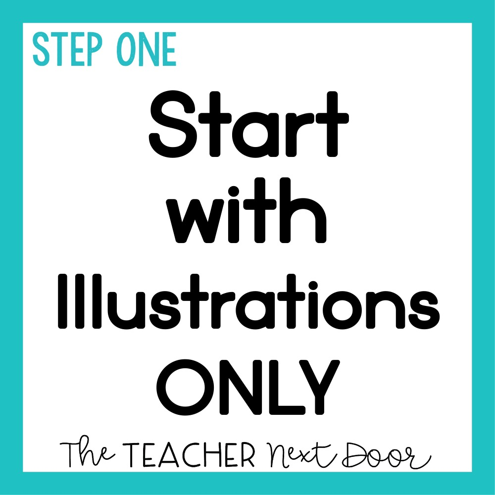 3 Ways to Help Students Learn from Illustrations in Informational Text - Step 1