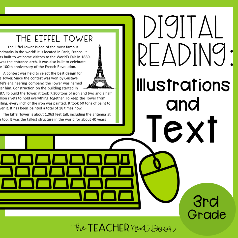 Illustrations and Text - 3rd Grade - Cover