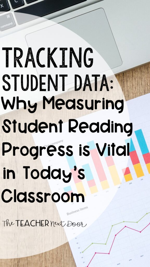Tracking Student Data- Why Measuring Student Reading Progress is VItal in Today's Classroom Pin