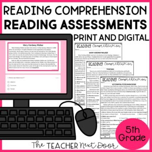 Reading Comprehension Standards-Based Reading Assessments for Nonfiction
