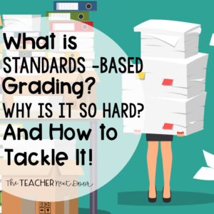 What Is Standards Based Grading, Why Is It So Hard, and How to Tackle It Blog Cover