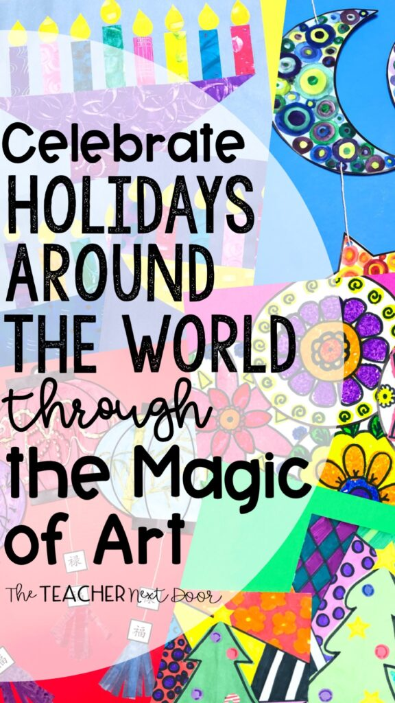 Celebrate Holidays Around the World through the Magic of Art Pin