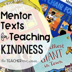 Mentor Text for Kindness Blog Cover