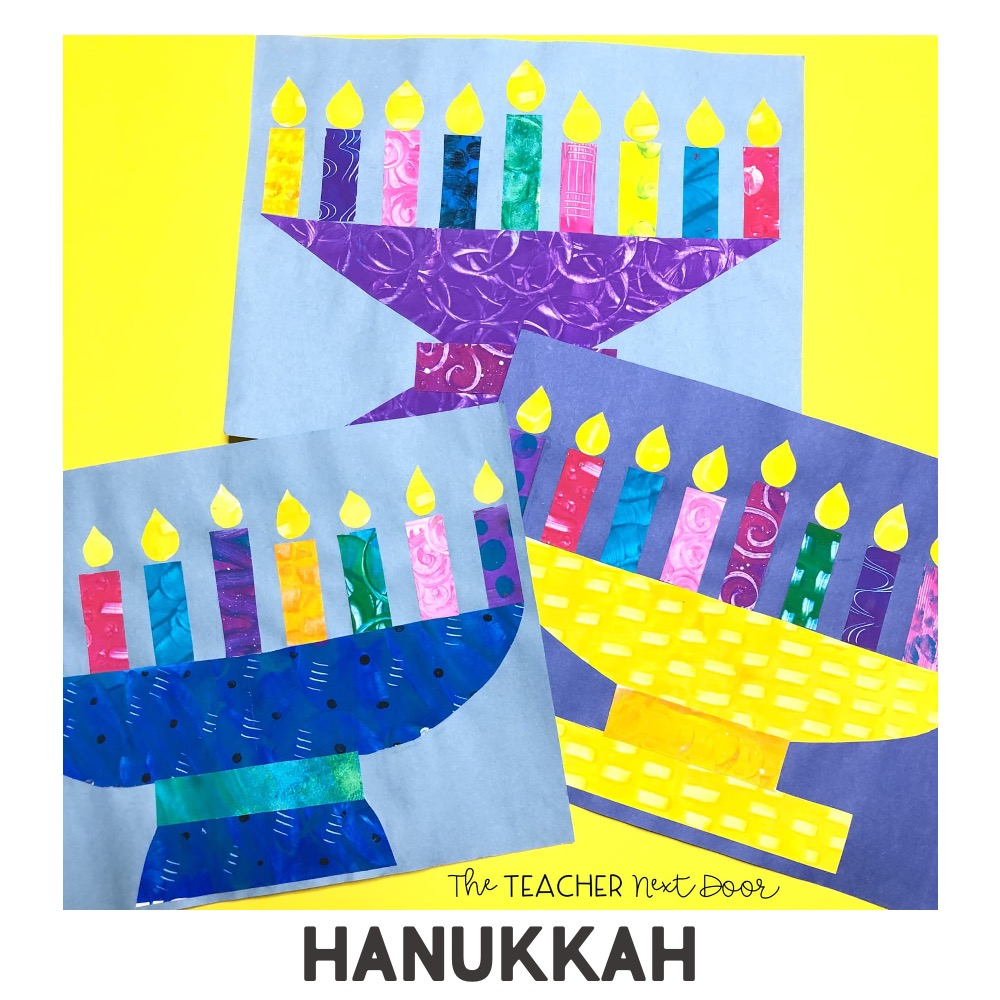 Holidays Around the World Art Project Hanukkah