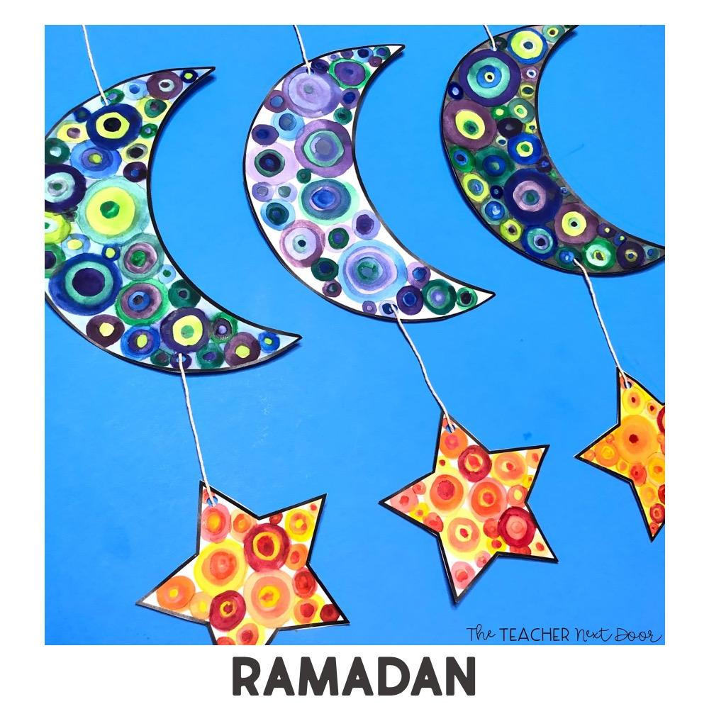 HOlidays around the world art project ramadan