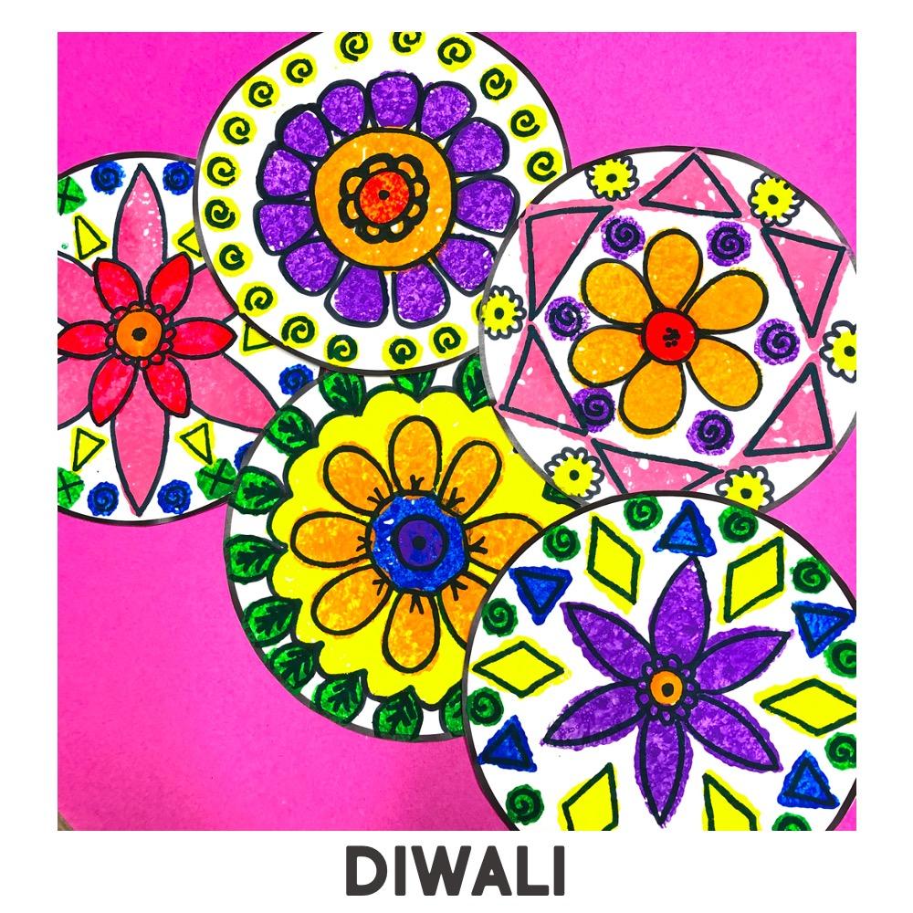 Holidays Around the World Art Project Rangoli India